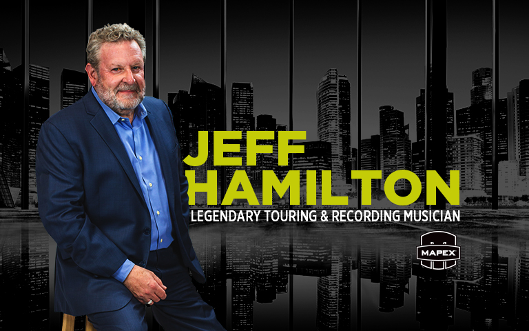 MAPEX Welcomes Jeff Hamilton To The MAPEX Roster Of Artists